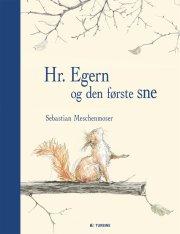 hr. egern og den første sne - bog