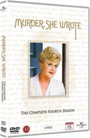 hun så et mord - sæson 4 / murder she wrote - season 4 - DVD