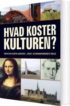 hvad koster kulturen? - bog
