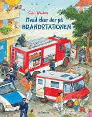 hvad sker der på brandstationen - bog