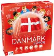 hvad ved du om danmark junior - tactic - Brætspil
