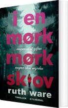 i en mørk, mørk skov - bog
