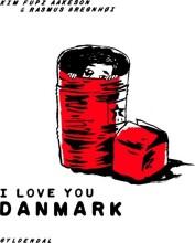 i love you danmark - bog
