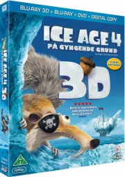 ice age 4: på gyngende grund  - 3D Blu-Ray+Dvd