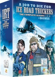 ice road truckers complete - sæson 1-3 + bonus - DVD