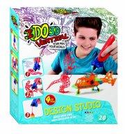 ido3d - vertical 4 pen design studio sæt - vilde kreationer - Kreativitet