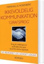 ikkevoldelig kommunikation - girafsprog - bog