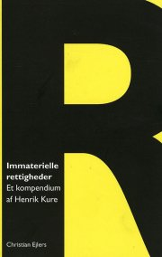 immaterielel rettigheder - bog