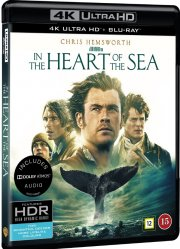 in the heart of the sea - 4k Ultra HD Blu-Ray