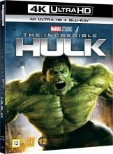 the incredible hulk - edward norton - 2008 - 4k Ultra HD Blu-Ray