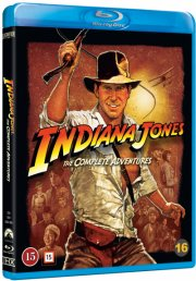 indiana jones 1-4 box - Blu-Ray