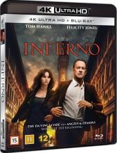 inferno - 2016 dan brown  - 4k Ultra HD Blu-Ray