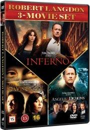 inferno // the da vinci code // engle og dæmoner - DVD