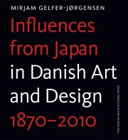 influences from japan in danish art and design - bog