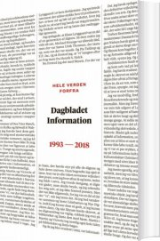 information - de sidste 25 år - bog