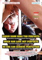 ingen kan lave det perfekte - et portræt af billedhuggeren hans pauli olsen - DVD