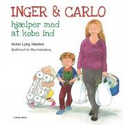 inger og carlo hjælper med at købe ind - bog