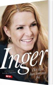 inger støjberg biografi - bog