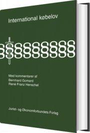 international købelov - bog