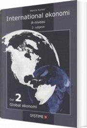 international økonomi a-niveau, bind 2 - bog