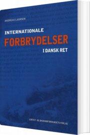 internationale forbrydelser i dansk ret - bog