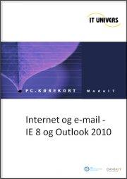 internet og mail ie 8 og outlook 2010 - bog