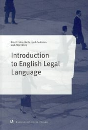 introduction to english legal language - bog