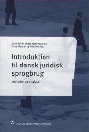 introduktion til dansk juridisk sprogbrug - bog