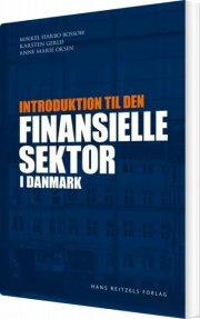 introduktion til den finansielle sektor i danmark - bog