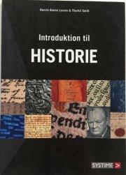 introduktion til historie - bog