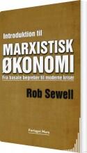 introduktion til marxistisk økonomi - bog