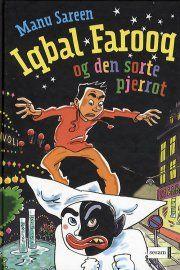 iqbal farooq og den sorte pjerrot - bog