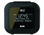 irc dab+ / fm-radio - sandman clock radio - sort - Tv Og Lyd