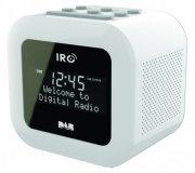irc dab+ / fm-radio - sandman clock radio - hvid - Tv Og Lyd