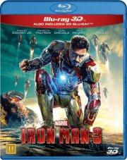 iron man 3 - 3D Blu-Ray