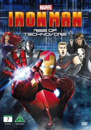 iron man: rise of technovore - DVD