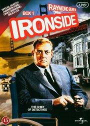 Ironside - Sæson 1 - Episode 1-8 - DVD - Tv-serie