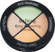 isadora concealer / dækstift - color correcting concealer - anti-rødme - Makeup