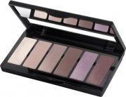 isadora øjenskyggepalette - eye color bar - 61 smoky mauves - Makeup