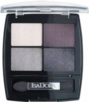 isadora øjenskyggepalette - eye shadow quartet - crystal mauve - Makeup