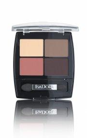 isadora eye shadow quartet 14 - peach avenue - Makeup