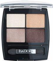 isadora øjenskyggepalette - eye shadow quartet - pearls - Makeup