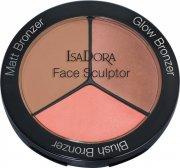 isadora contour sæt - face sculptor - sun glow - Makeup