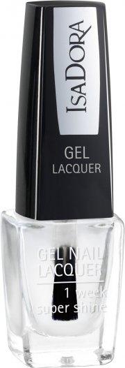 neglelak / negle lak gel - isadora - clear - Makeup