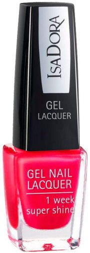 neglelak / negle lak gel - isadora - scarlet red - Makeup