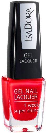 neglelak gel - isadora - true red - Makeup
