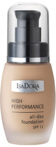 foundation - isadora high performance foundation - vanilla beige - Makeup