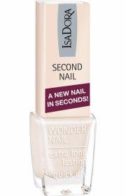 neglelak - isadora - second nail - nude - Makeup