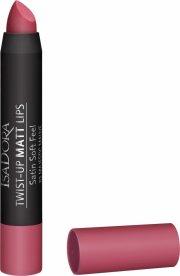 læbestift - isadora twist-up matt lips - majestic mauve - Makeup
