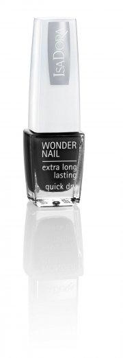 neglelak / negle lak - isadora wonder nail - black lacquer - Makeup